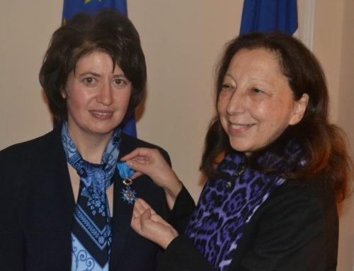 MME HASMIK TOLMAJYAN DÉCORÉE DE L'ORDRE NATIONAL DU MÉRITE
